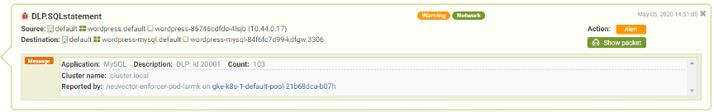 dlp notification